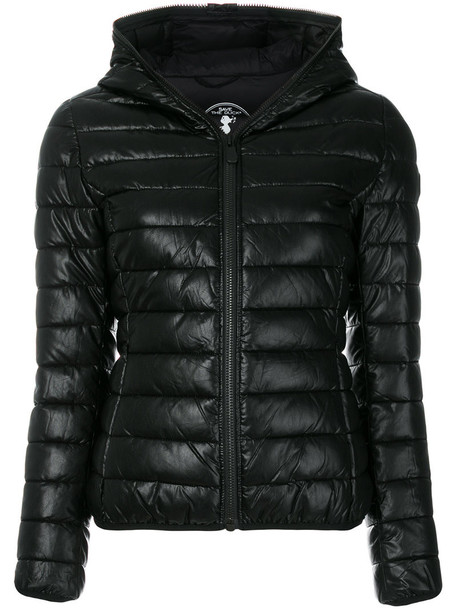 jacket puffer jacket women black