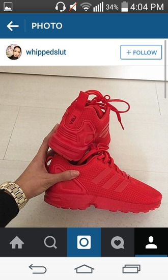 shoes red sneakers nike adidas casual sportswear sports shoes athletic sporty steez style cute tumblr steezy swag red sneakers red shoes summer spring winter outfits