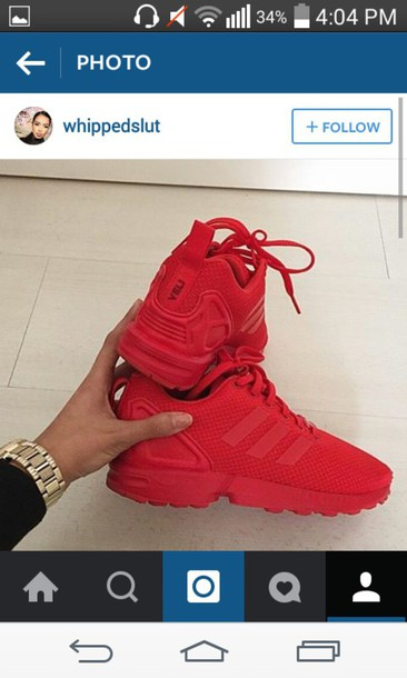 shoes red sneakers nike adidas casual sportswear sports shoes athletic  sporty steez style cute tumblr steezy