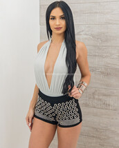 top,moda fina boutique,megan open back shimmer bodysuit