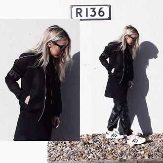 jacket maniere de voir mesh bomber jacket black kardashians