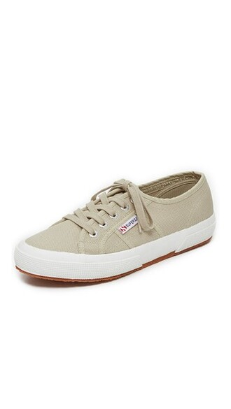 classic sneakers taupe shoes