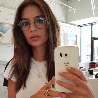 sunglasses emily ratajkowski glasses tortoise shell