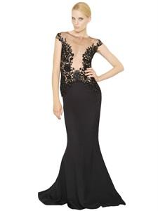 LONG DRESSES - REEM ACRA -  LUISAVIAROMA.COM - WOMEN'S CLOTHING - SPRING SUMMER 2014