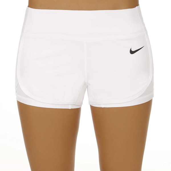Nike Court Printed Short Women white/black | buy online at Tennis ...