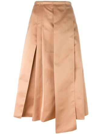 skirt pleated purple pink
