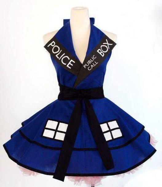 dress doctor who tardis