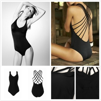 Aliexpress.com : buy 2015 sexy hot sale cross one piece swimsuit black stripe rope splicing swimwear brazilian monokini,free shipping from reliable monokini swimwear one piece suppliers on igoodbuy
