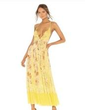 dress,yellow dress