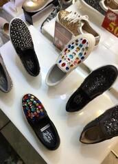 shoes,jewels,espadrilles,platform shoes,multicolor,jeweld,flatforms,leather,slip on shoes,plimsolls