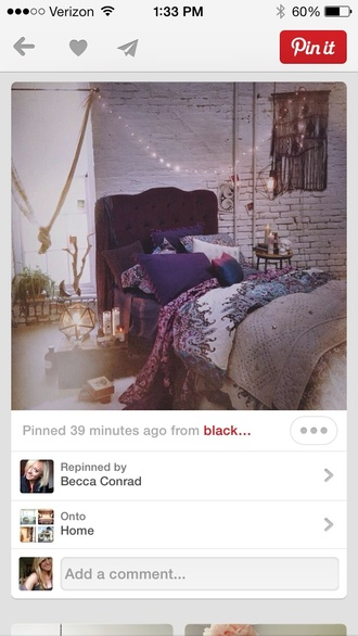 underwear bedding boho hippie duvet