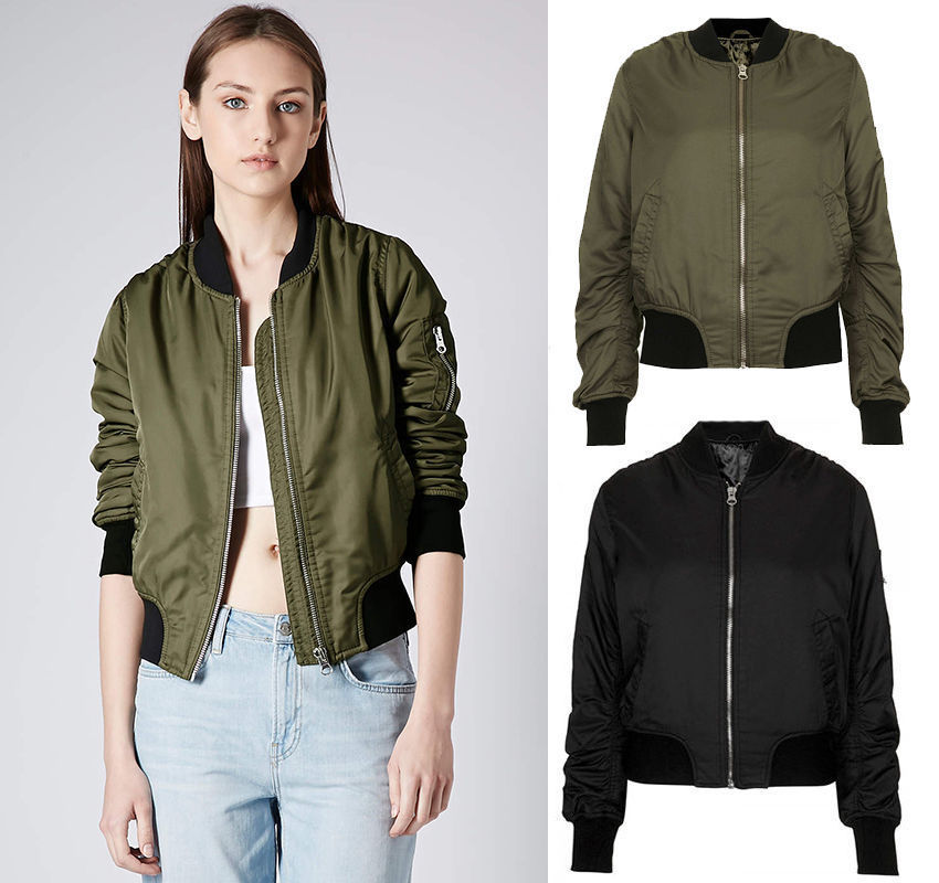 Long bomber jacket women's – Modern fashion jacket photo blog