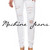 White Skinny Jeans with Distress – Betsy Boo's Boutique
