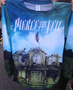 PIERCE THE VEIL - COLLIDE WITH THE SKY CREWNECK on The Hunt