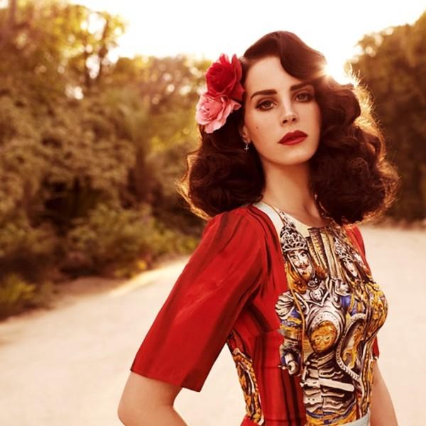 dress lana del rey cute dress red dress beautiful lovely pretty
