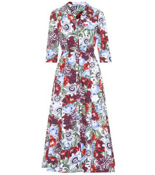 Erdem dress floral cotton
