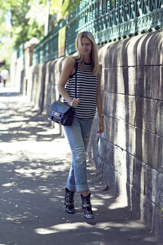 jeans shoes jewels bag t-shirt tuula
