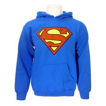 Superman hoodie blue