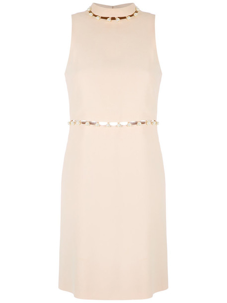 Nk dress shift dress women nude