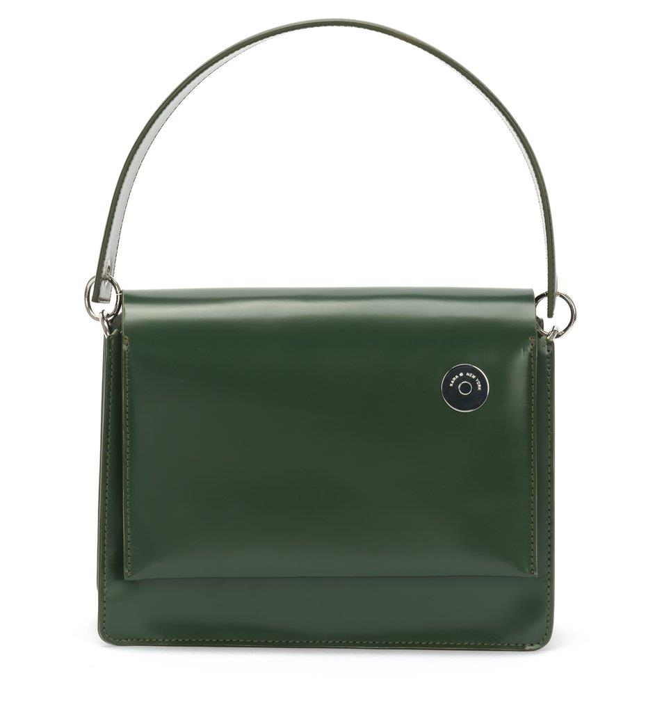 Green Pinch Shoulder Bag