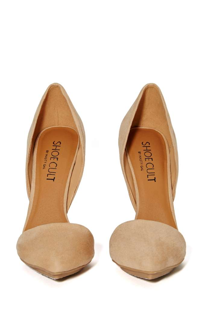 Shoe Cult Nicole Pump - Nude | Shop Pumps at Nasty Gal