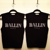 graphic print top,black top,black tank top,ballin paris,sylvi label,tank top