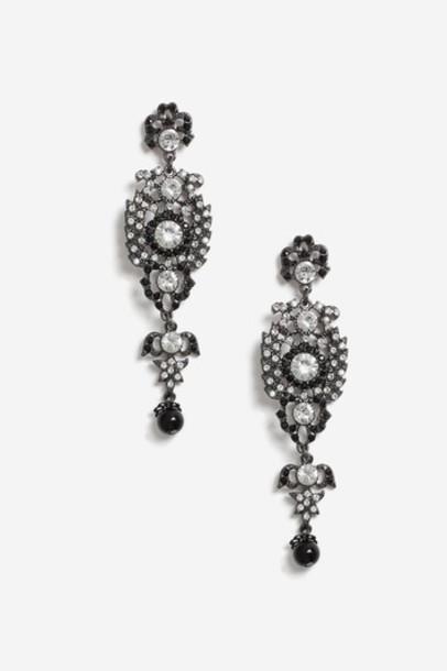 Topshop pearl earrings jewels
