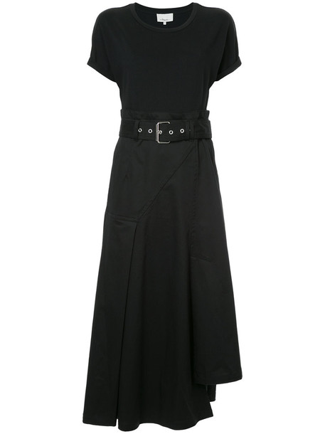 3.1 Phillip Lim dress midi dress women midi cotton black