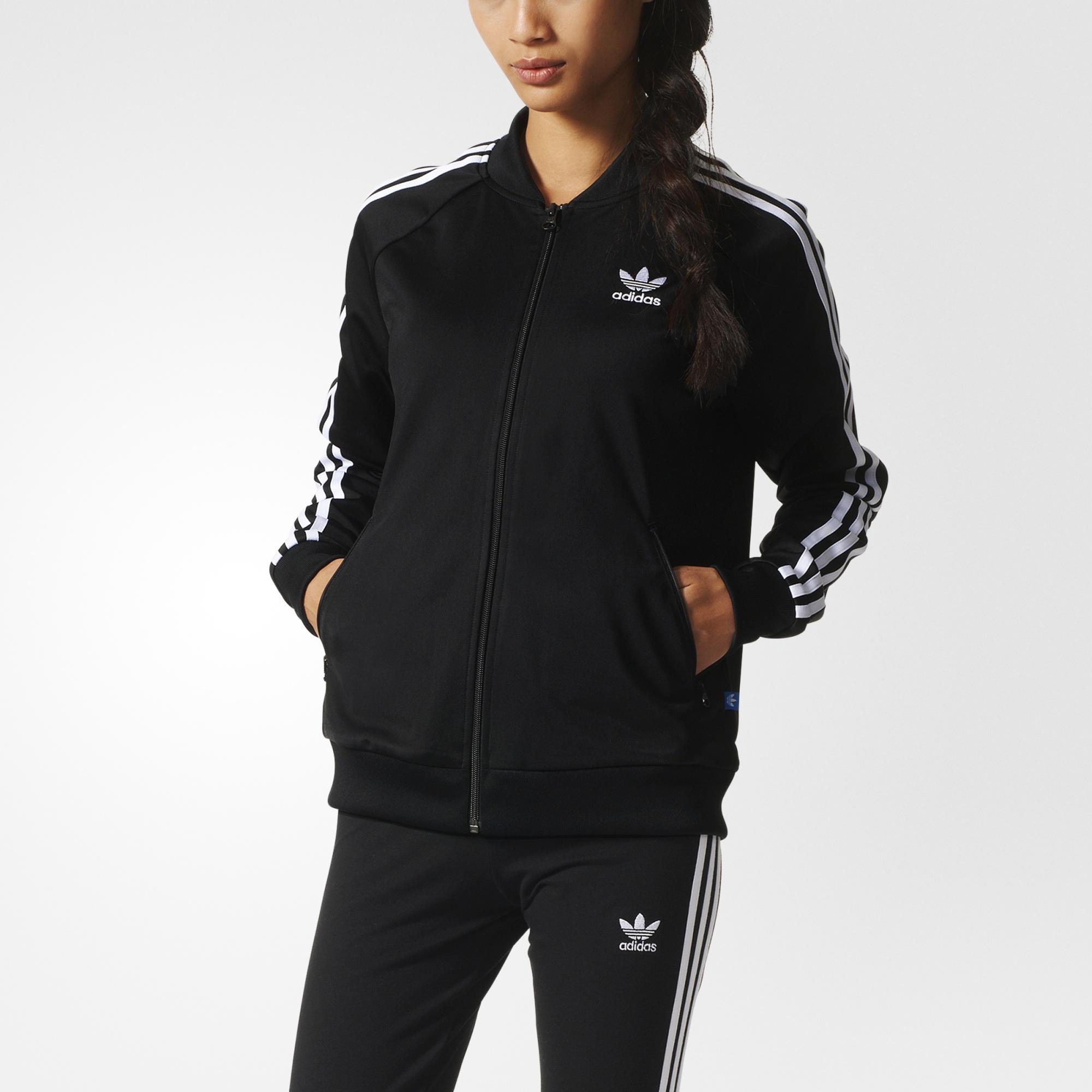4d7f523391 adidas Supergirl Track Jacket - Black   adidas US