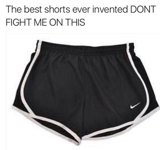 shorts black and white nike shorts