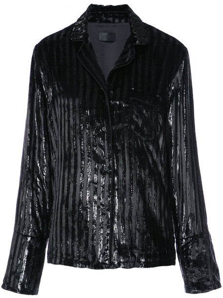rta blazer metallic women black jacket