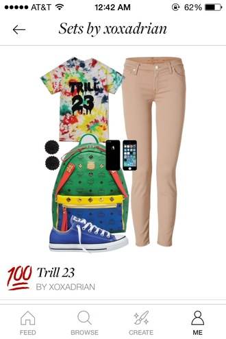 jeans trill 23 bag