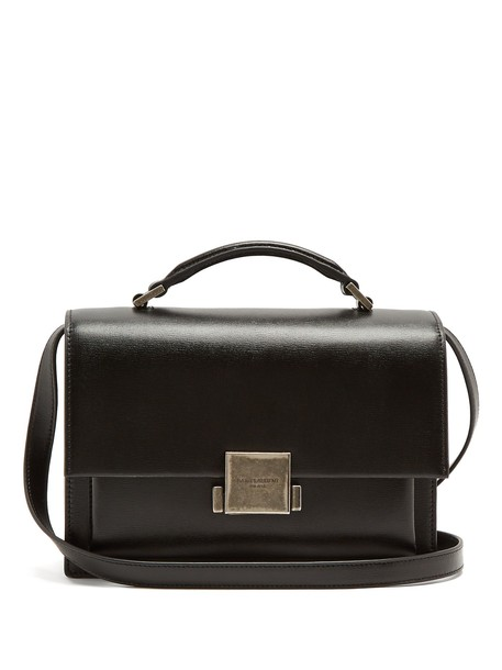 Saint Laurent bag leather bag leather black