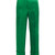 Wide-cuff satin cropped trousers