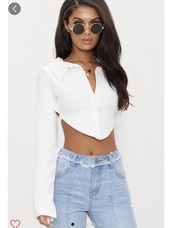 shirt,cropped,open back