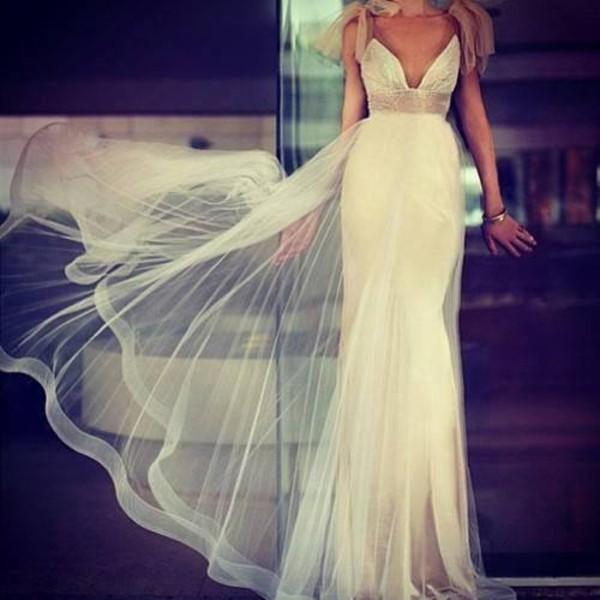 dress white dream