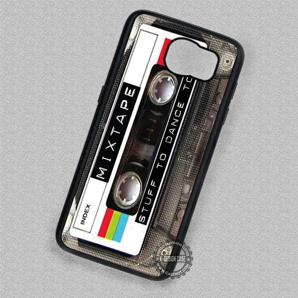 Retro Mix Tape Cassette Vintage - Samsung Galaxy S7 S5 S4 Note 7 Cases & Covers