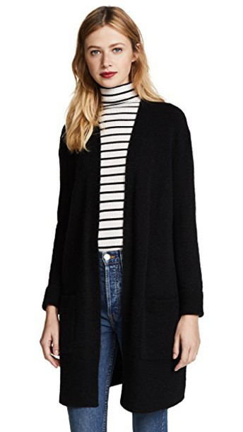 Madewell cardigan cardigan black sweater