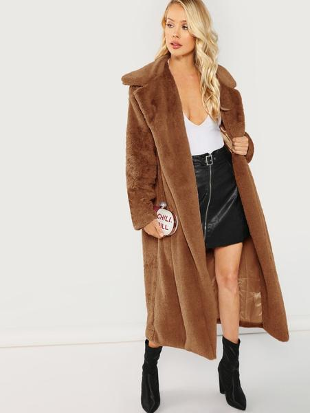 Sung Longline Teddy Coat
