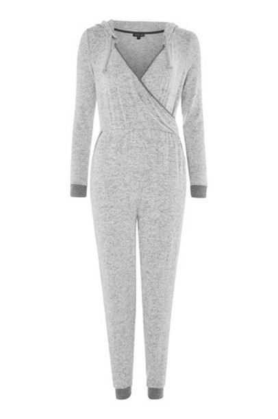 Topshop jumpsuit grey