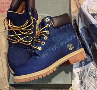 shoes style shoess blue blue shoes timberland