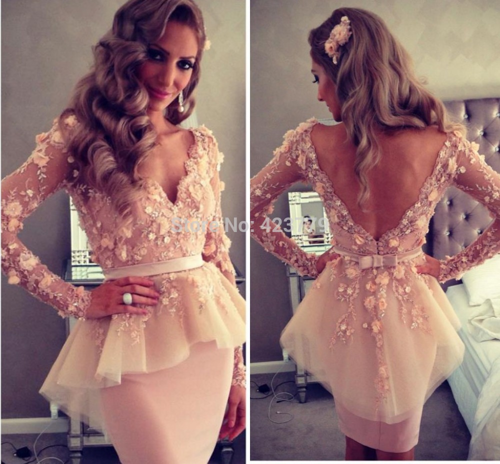 Free shipping Celebrity dress Long sleeve V neck Myriam fares friendTube Sheath Knee length Custome-in Celebrity-Inspired Dresses from Apparel & Accessories on Aliexpress.com | Alibaba Group