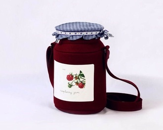 bag purse funny food