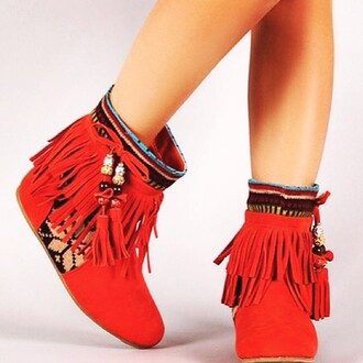 shoes orange dress boots indian boots suede boots fashion hot pants sexy dress