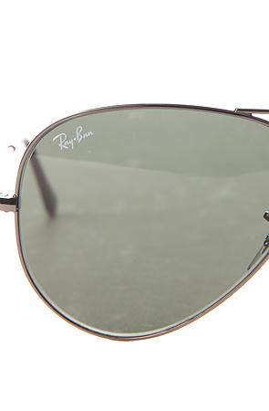 Ray Ban Sunglasses 58mm Large Aviator in Gunmetal Grey -  Karmaloop.com