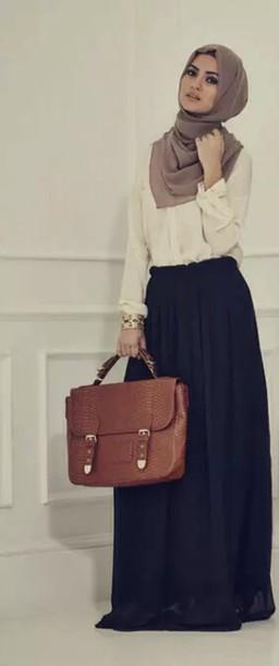 bag hijab muslim outfit