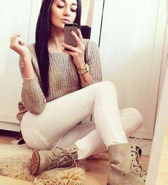 shoes top beige white blanco pants white pants