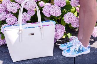 white bag bag big bags multi colored cute bags