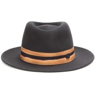 fedora grey hat