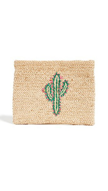 clutch cactus bag